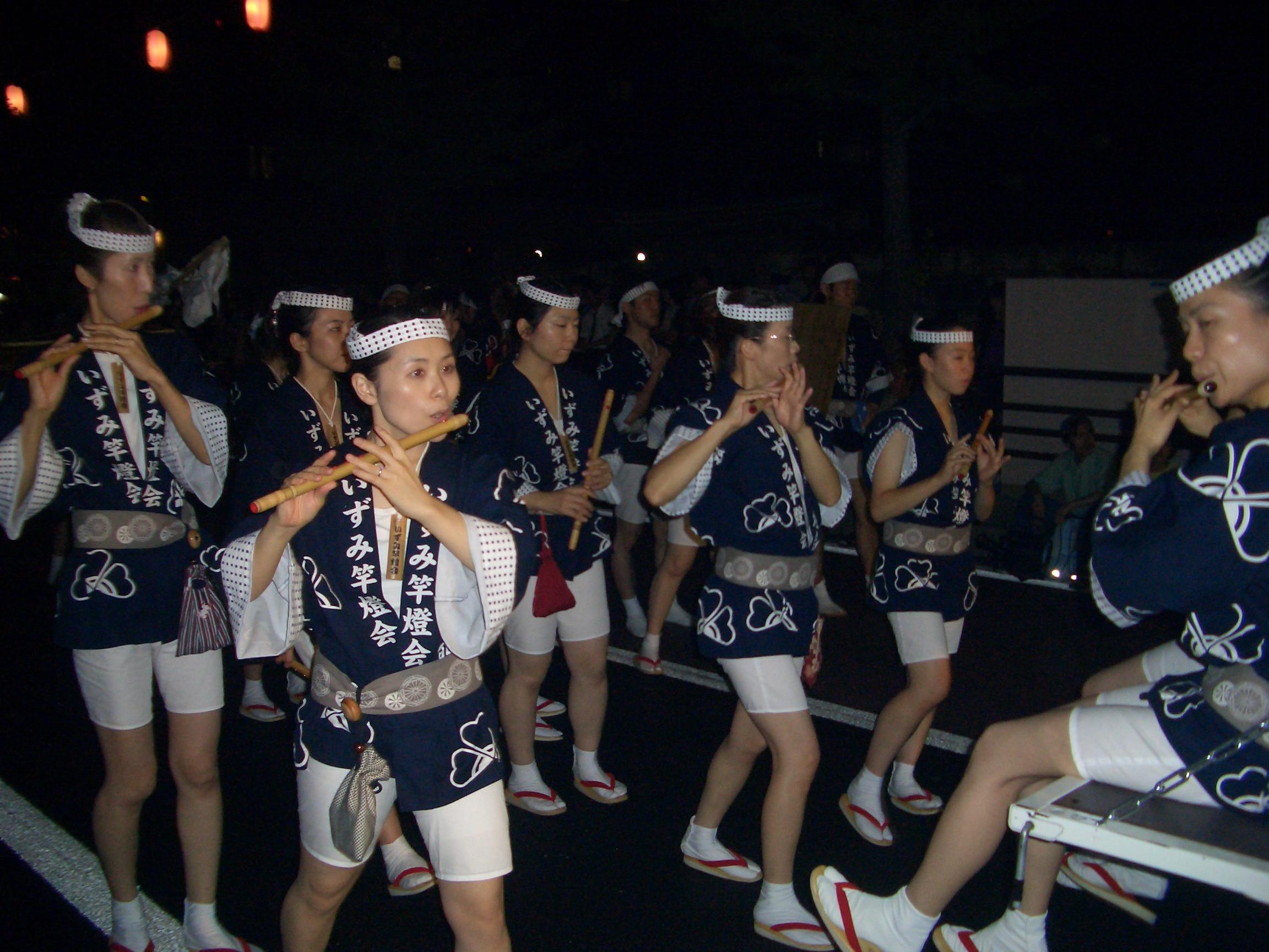 囃子の隊列
